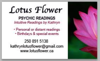 Lotus Flower Psychic Readings Company Logo by Lotus Flower Psychic Readings with Kathryn Lowther in Victoria BC