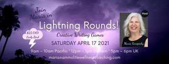 Lightning Rounds Creative Writing Games