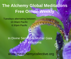 Weekly Global Meditation with The Alchemy Collective