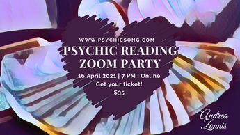 Psychic Reading Zoom Party